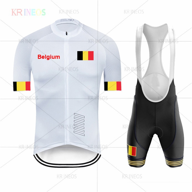 Neue 2020, Belgien Radfahren Jersey Set, herren Racing Bike Kleidung, Jersey, MTB Radfahren Kleidung, radfahren Sportswear nw