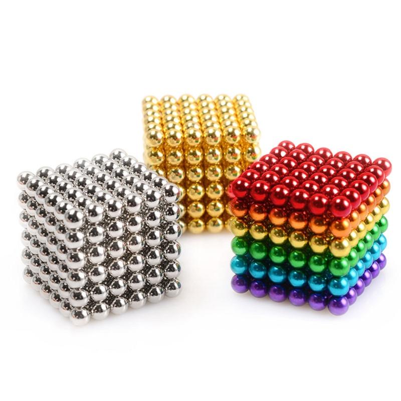 216 шт./компл. супер DIY Сборные магнитные шарики 3 мм магнитные игрушки креативные неодимовые магниты магнитные кубики Головоломки забавные игрушки