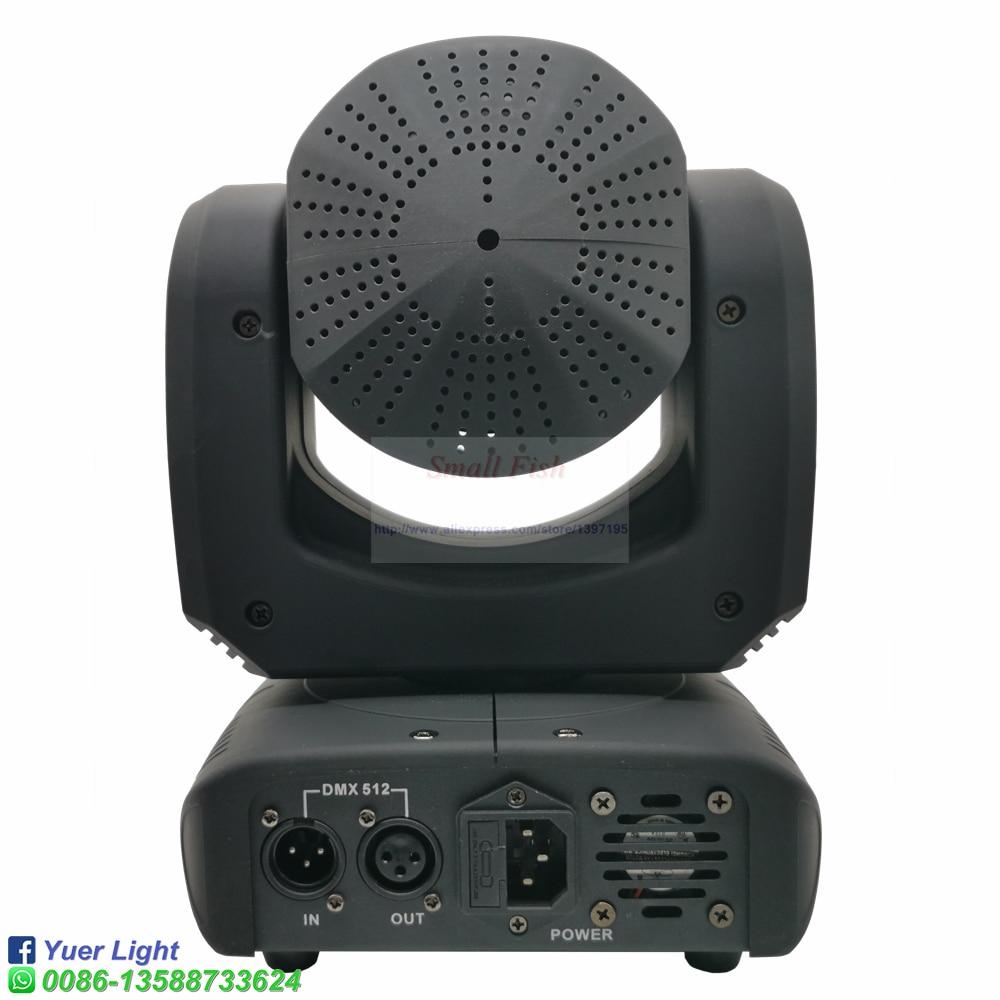 6шт% 2FLot Mini 80W LED 6шт RGBW 4IN1 Bee Eyes and Laser Moving Head Light Flight Case