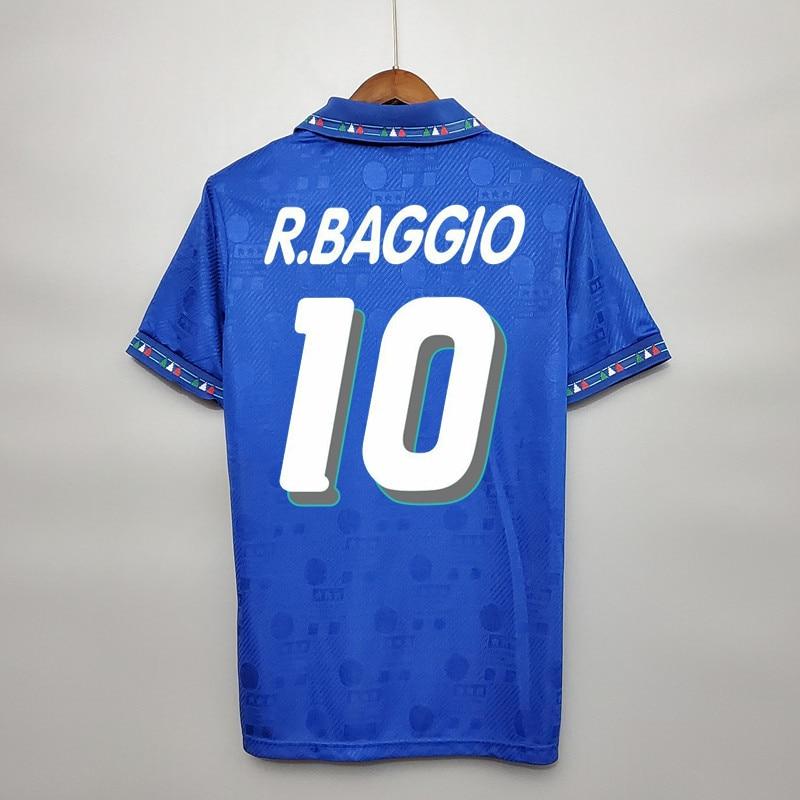 1994 Retro Baggio Maldini Baresi Albertini Conte Zola camisetas clásicas Vintage camisetas