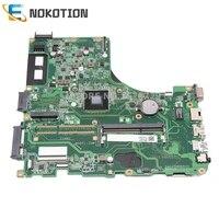 NOKOTION laptop motherboard For Acer ASPIRE E5-411 E5-411G Mainboard DA0ZQMMB6H0 NBMLQ11009 NBMLQ110096 with processor onboard