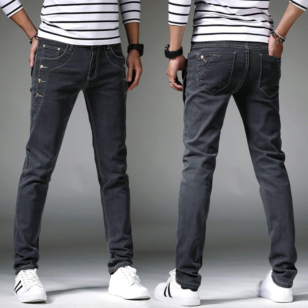 Мужские джинсы тренд прямые бочки джинсы мужские мото джинсы облегающие прямые состаренные джинсы брюки зимние джинсовые брюки