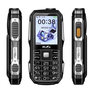 Мобильный телефон фонарь, 6800 мАч, волшебная Голосовая скорость, цветной светодиодный GSM сотовый телефон, FM радио, недорогая Русская клавиату...