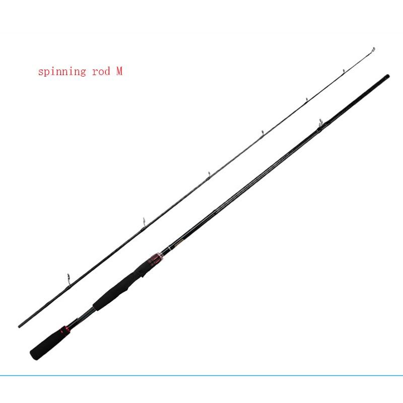 Hard Carbon Fiber Lure Pole 2.1m Tones of M MH Adjustable Fishing Jigging Rod Left Kastkin Pole Casting Spinning Rod Tough Pesca enlarge