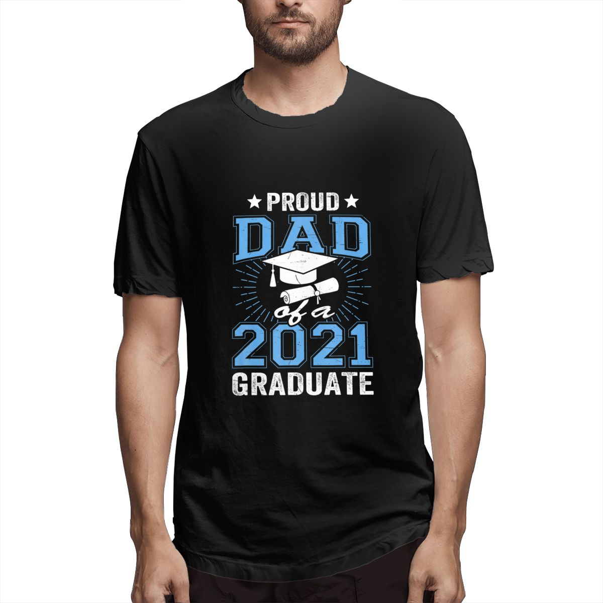 Camiseta estampada para hombres de clase una prenda de vestir de manga...