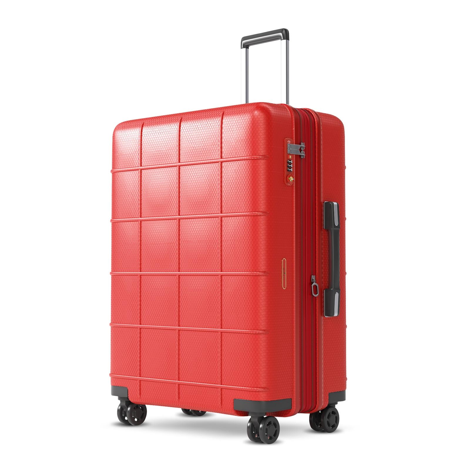 чехол на чемодан 18316 s 55 см Чемодан с колесиками-спиннером, чехол для ручного костюма s Elegance, чехол на колесиках с замком TSA 100% шт., 20% расширительный слой для деловых пое...