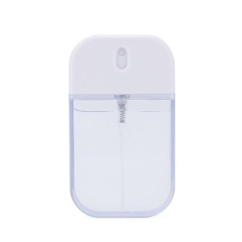 5Pcs 35ml Recarregáveis Frascos de Spray Hidratante Cardcase-like Bolso Portátil 667D