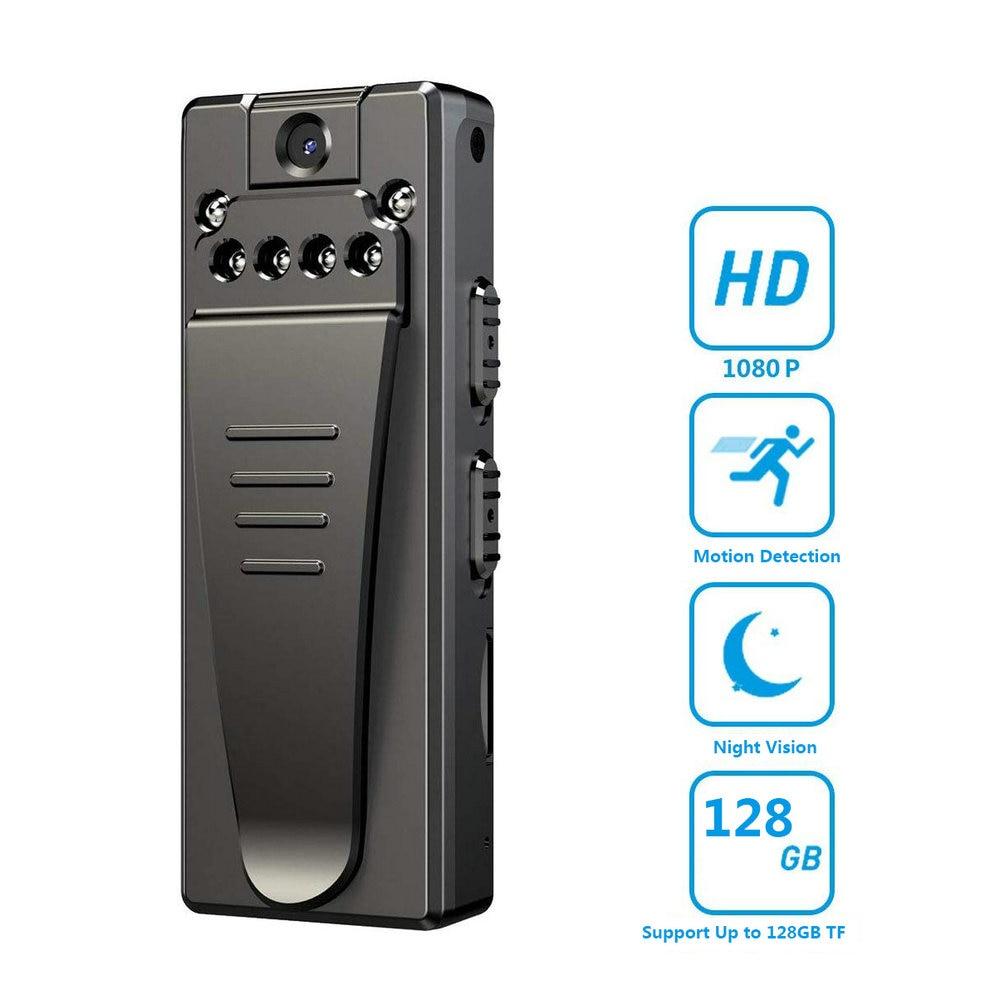HD 1080P كاميرا صغيرة محمولة صغيرة DVR كاميرات الفيديو الرقمية للرؤية الليلية حلقة تسجيل مسجل فيديو جيب كاميرا رياضية A7