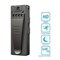 Цифровые видеокамеры HD 1080P Портативная мини-камера DVR с функцией ночного видения и цикличной записью, карманный спортивный регистратор A7