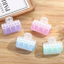 3Pcs/Lot Hair Rollers Bang Roll Curler Hair Curler Plastic Self-adhesive Hair Curling Hairdressing T