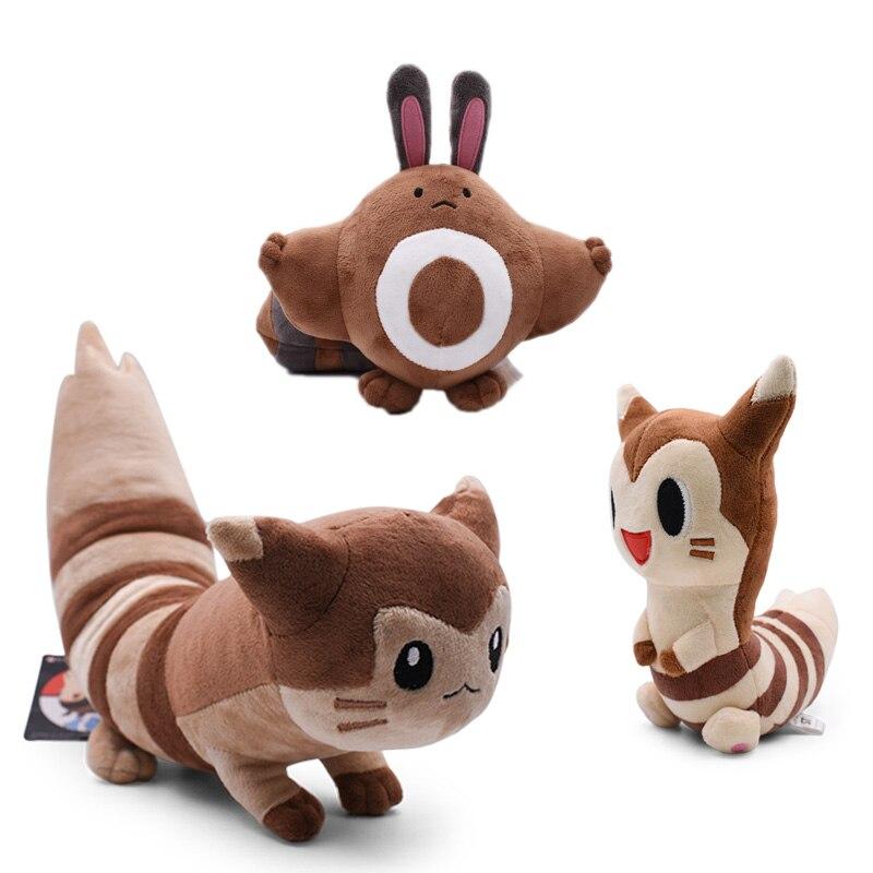 Takara Pokemon Japón Anime Sentret Furret Peluche de felpa muñecas de dibujos animados para los niños caliente juguete de regalo de Navidad