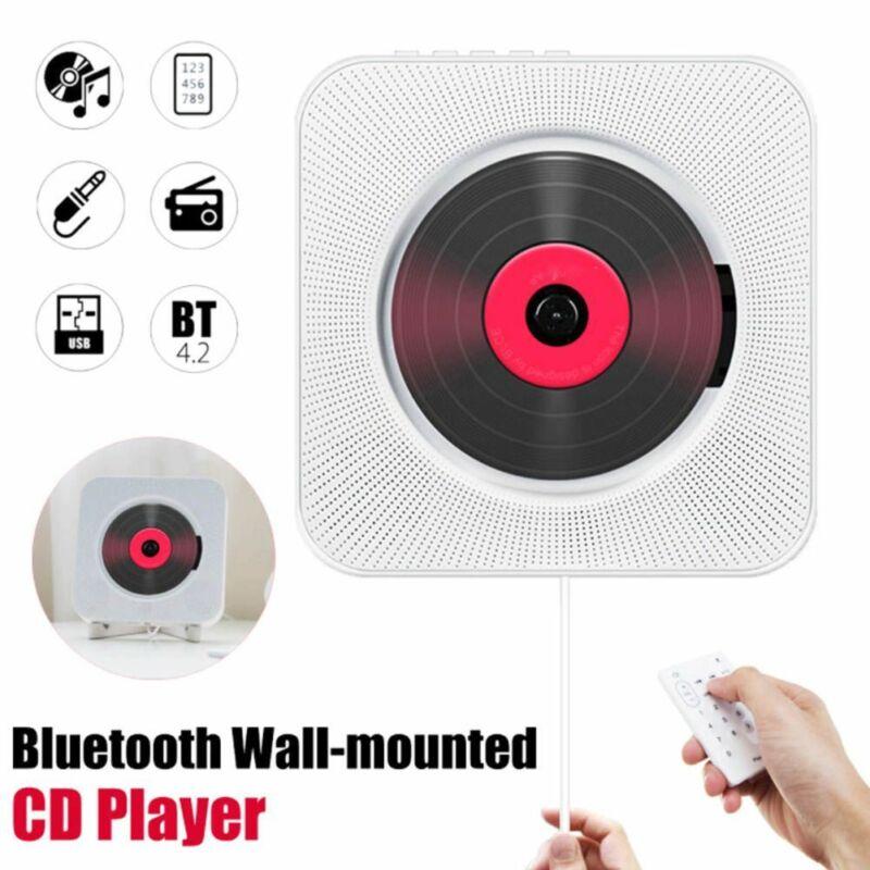 Настенный CD-плеер FM-радио Bluetooth MP3 музыкальный плеер с дистанционным управлением 2020 Новая мода