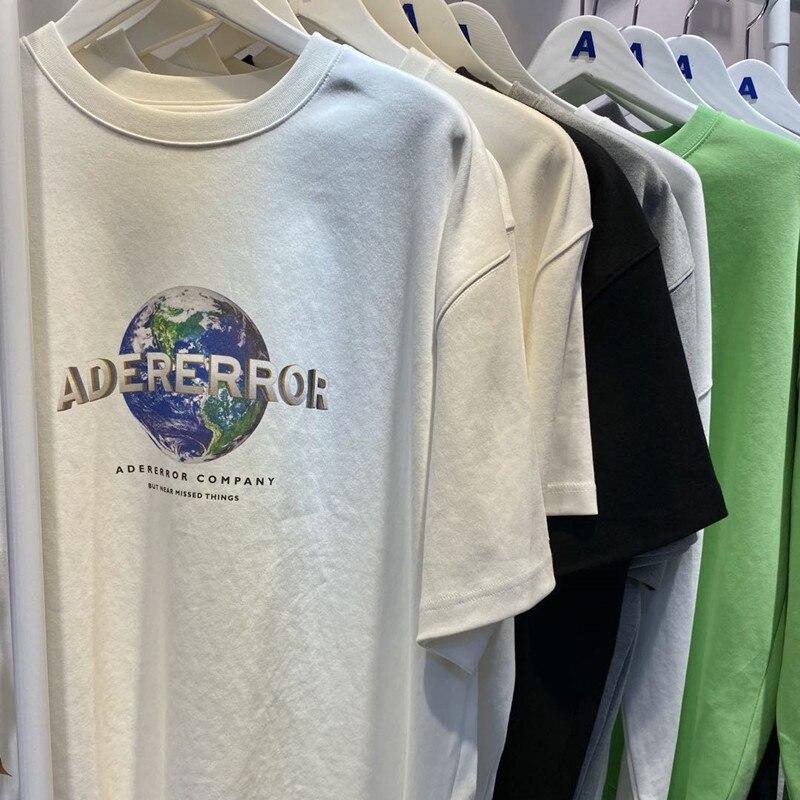 320g Stoff Dicke Adererror T Männer Frauen Adererror T-shirts Zwei Größen Oversize Ader T-shirt Ader fehler Top Tees