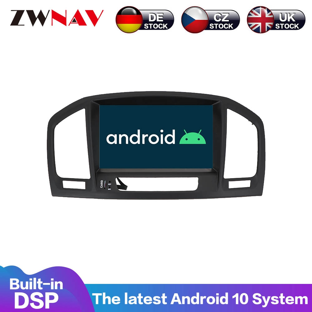 Android 10 PX6 4 + 64G con DSP Carplay IPS pantalla para Opel Vauxhall Holden Insignia 2008-2013 pantalla grande AC de Radio