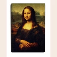 fashion canvas painting the famous painting mona lisas smile wall art canvas poster print painting wall picture for living room