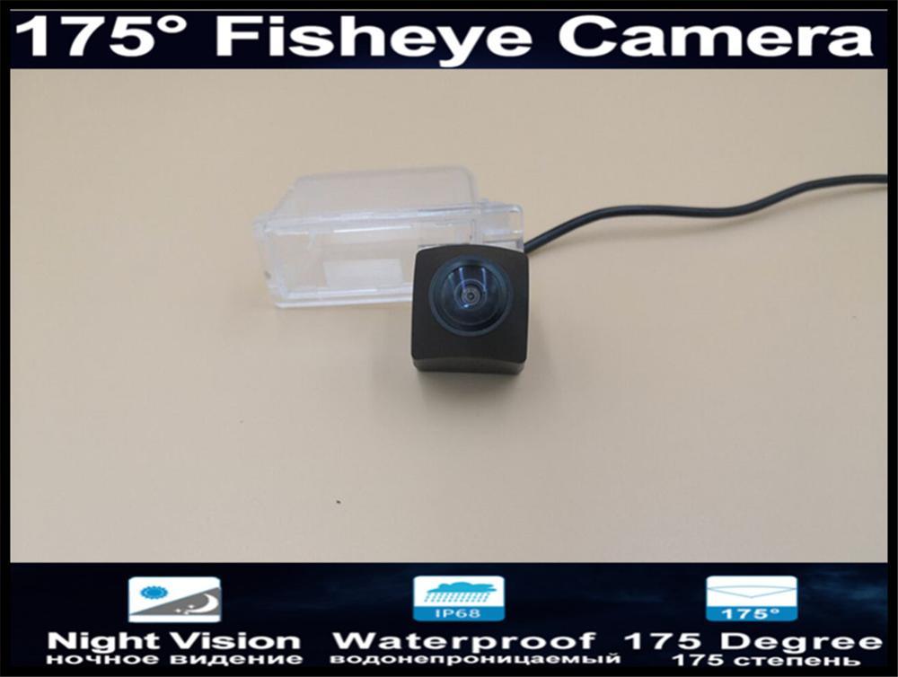 175 grados MCCD de ojo de pez de 1080P coche cámara de visión trasera para Ford Kuga escapar de 2013 de 2014 a prueba de agua 2015 de copia de seguridad cámara de marcha atrás