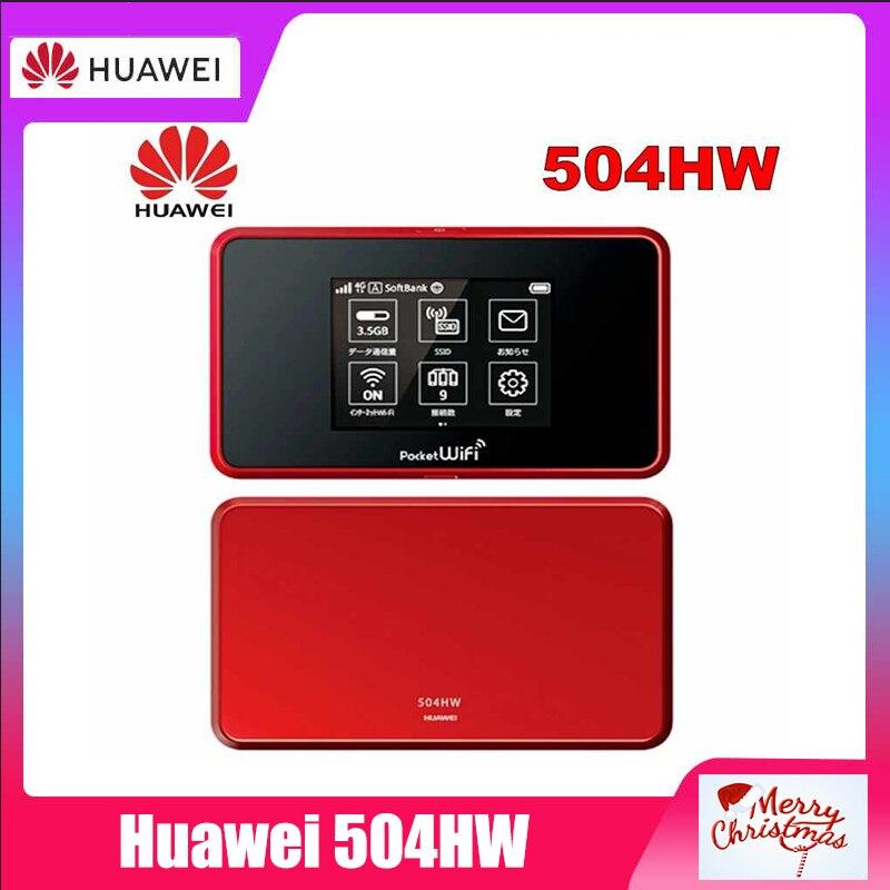 desbloqueado huawei 504hw 501hw 502hw 4g lte bolso ao ar livre wifi dongle roteador