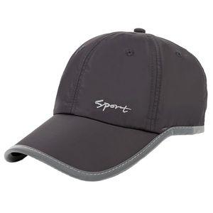 2018 New Fashion Summer Thin Fabric Baseball Cap Women Quick Drying Sun Hat Unisex Sport Cap Male Snapback Hats bone Trucker Cap