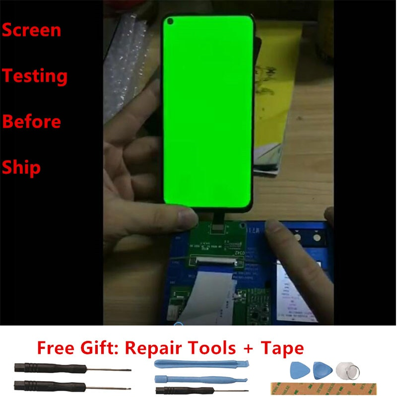 For Xiaomi Redmi Note 10S Lcd Screen Tested Amoled Lcd Display+Touch Screen Replacement For Redmi Note 10 4G M2101K7BL M2101K7AI enlarge
