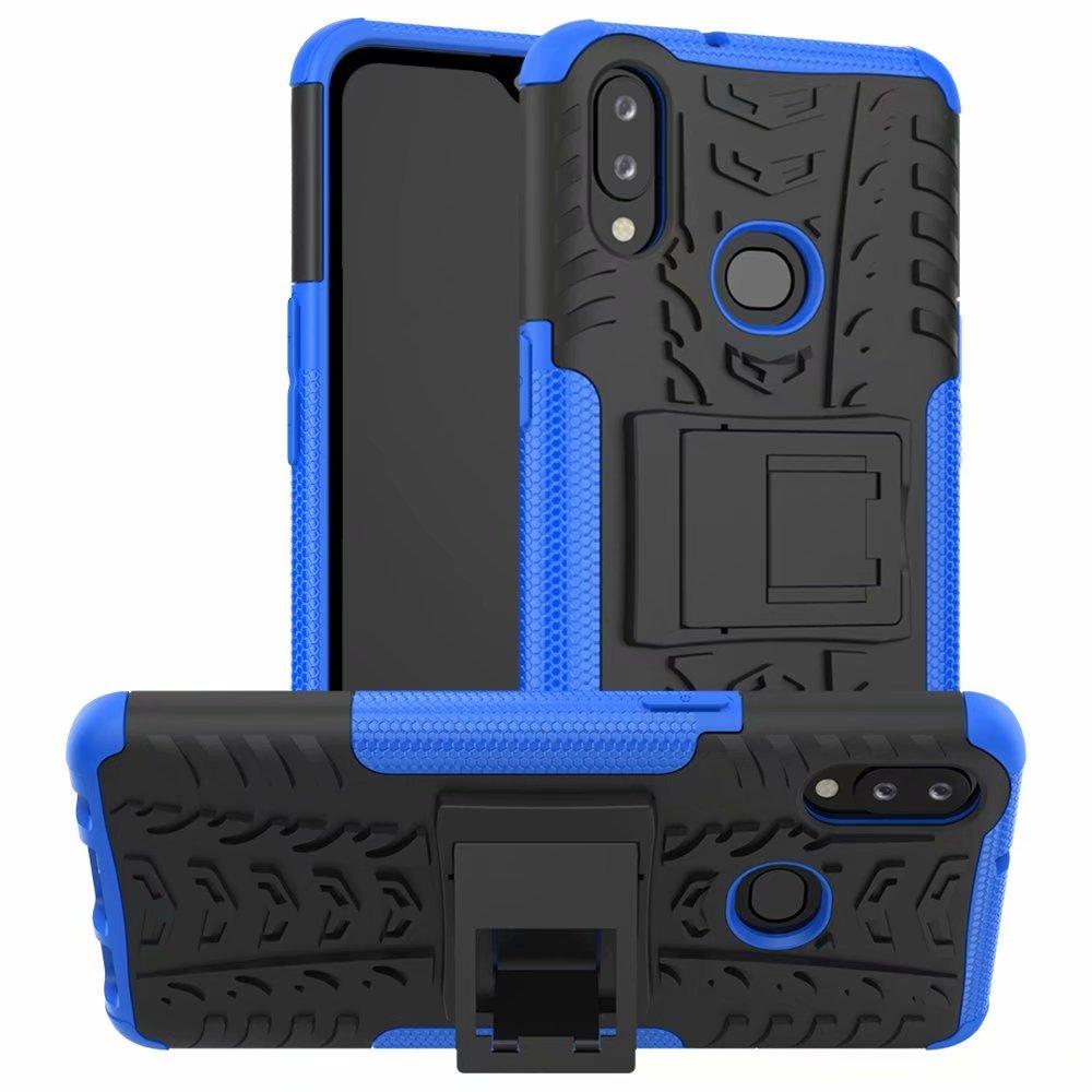 Чехол-подставка для Samsung Galaxy A10S, прочный двухслойный противоударный жесткий силиконовый чехол для Samsung Galaxy A10S A 10S