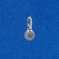 authentic 925 sterling silver charm new classic shiny spherical creative pendant fit pandora women braceletnecklace diy jewelry