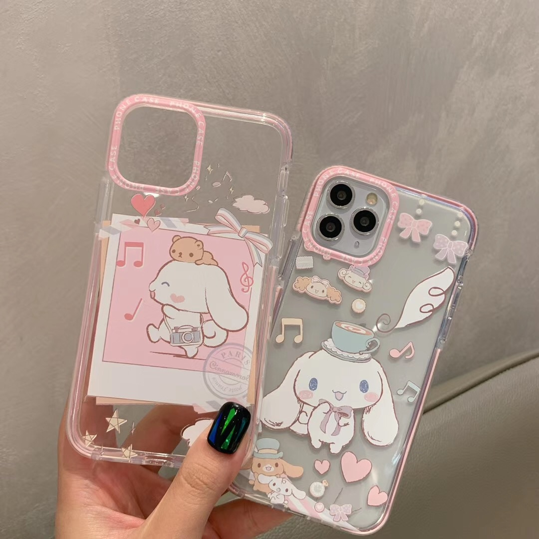 INS мультфильм Даффи медведь стеллау Япония кошка моя мелодия телефон чехол для iPhone 11 pro X Xs Max SE20 7 8 Plus Cinnamoroll прозрачный чехол