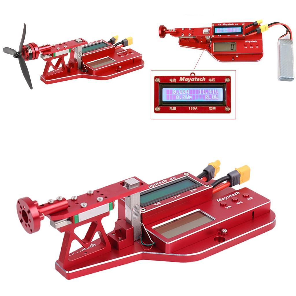 جهاز اختبار دفع التوتر في المحرك ، جهاز قياس قوة المروحة ، مع شاشة LCD ، لطراز طائرة RC ، 10 كجم