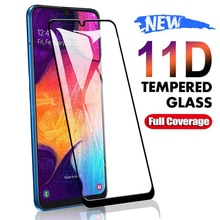 11D Protective Glass For Samsung Galaxy A01 A11 A21 A31 A41 A51 A71 Screen Protector M21 M31 M51 A10
