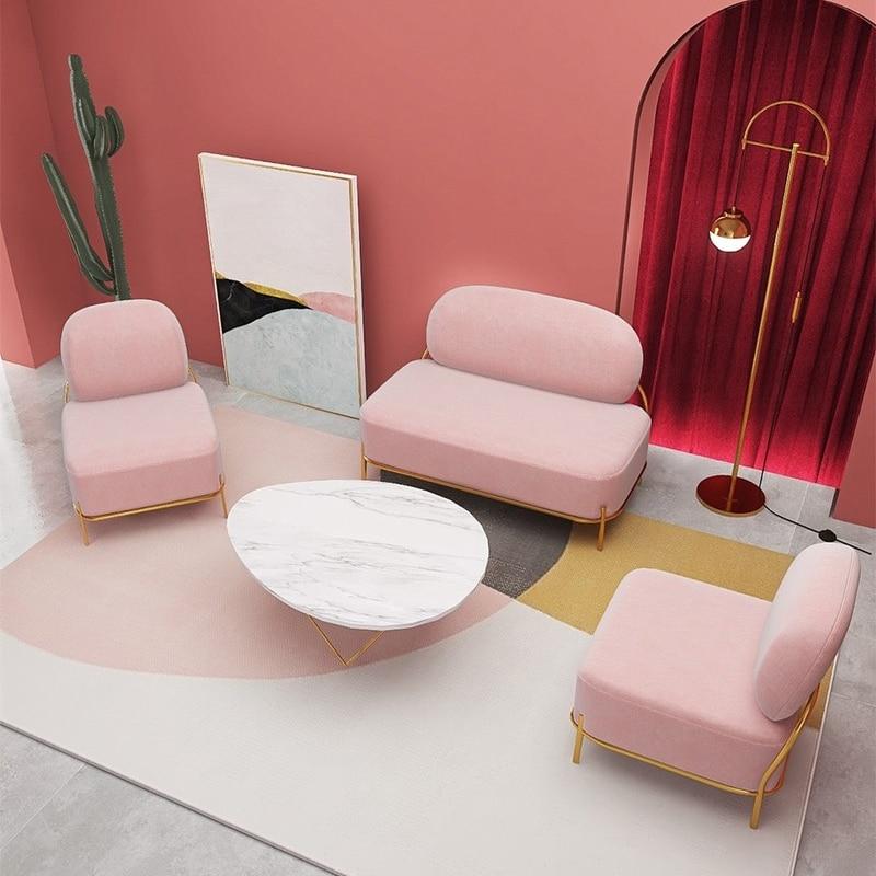 تخصيص الأرائك الفردي تصميم الإبداع شخصية مزدوجة أريكة لغرفة المعيشة الفاخرة الأثاث الشقق طقم أريكة الاقسام