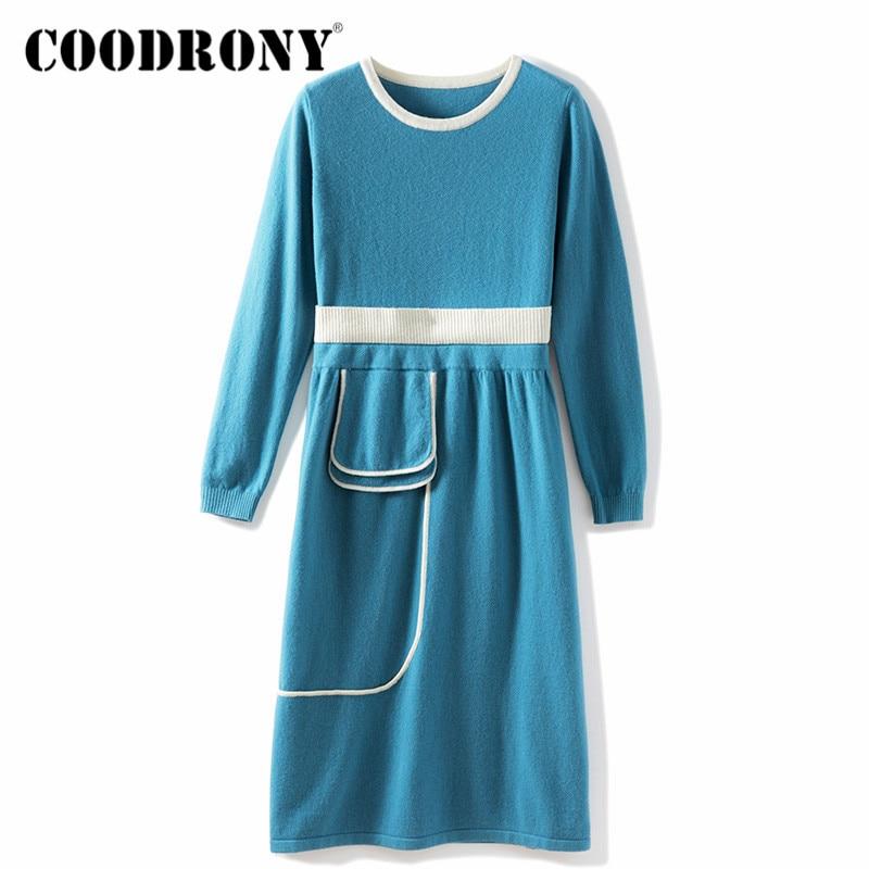 COODRONY Brand New Winter Streetwear Long Slim Pullover Sweaters Female 2020 Casual Elegant Soft Warm Women's Jumper W1167 enlarge