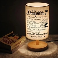 to my daughter wood led lights decoration table lamp living room learning table lamps for bedroom home deco bedside bed lamp