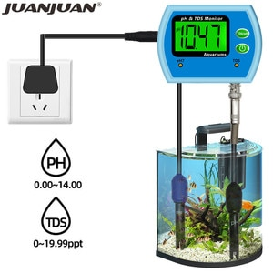 Professional 2 in 1 PH TDS Meter Multi-parameter Good Water Quality Monitor Online PH Acidometer Tester For Aquarium 30% off