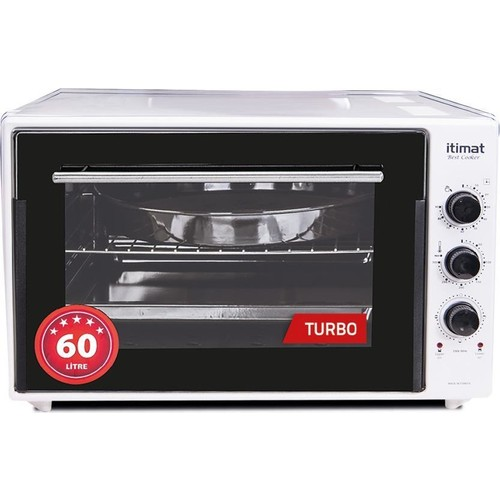 İtimat 8060 Timerli Thermostated Dual Glazed-Pointed Oven