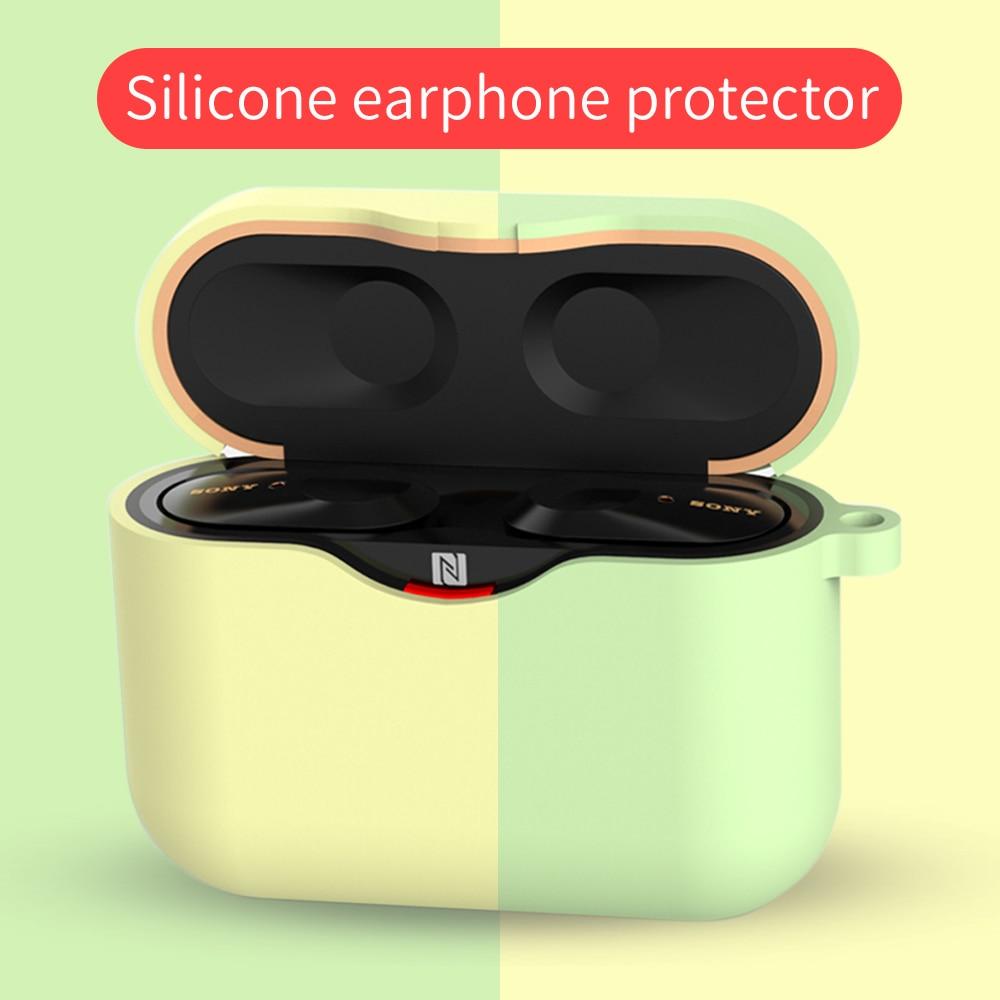 Funda para SONY WF-1000XM3 auriculares accesorios caja de carga funda para SONY WF 1000 XM3 TPU carcasa suave
