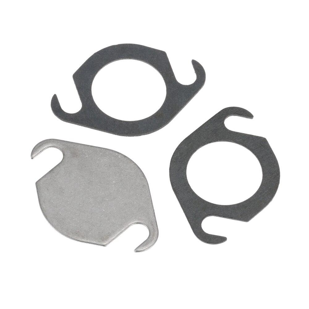 EGR клапан заглушка блок пластины комплект с прокладкой для VW AUDI SEAT SKODA VOLVO GALAXY TDI