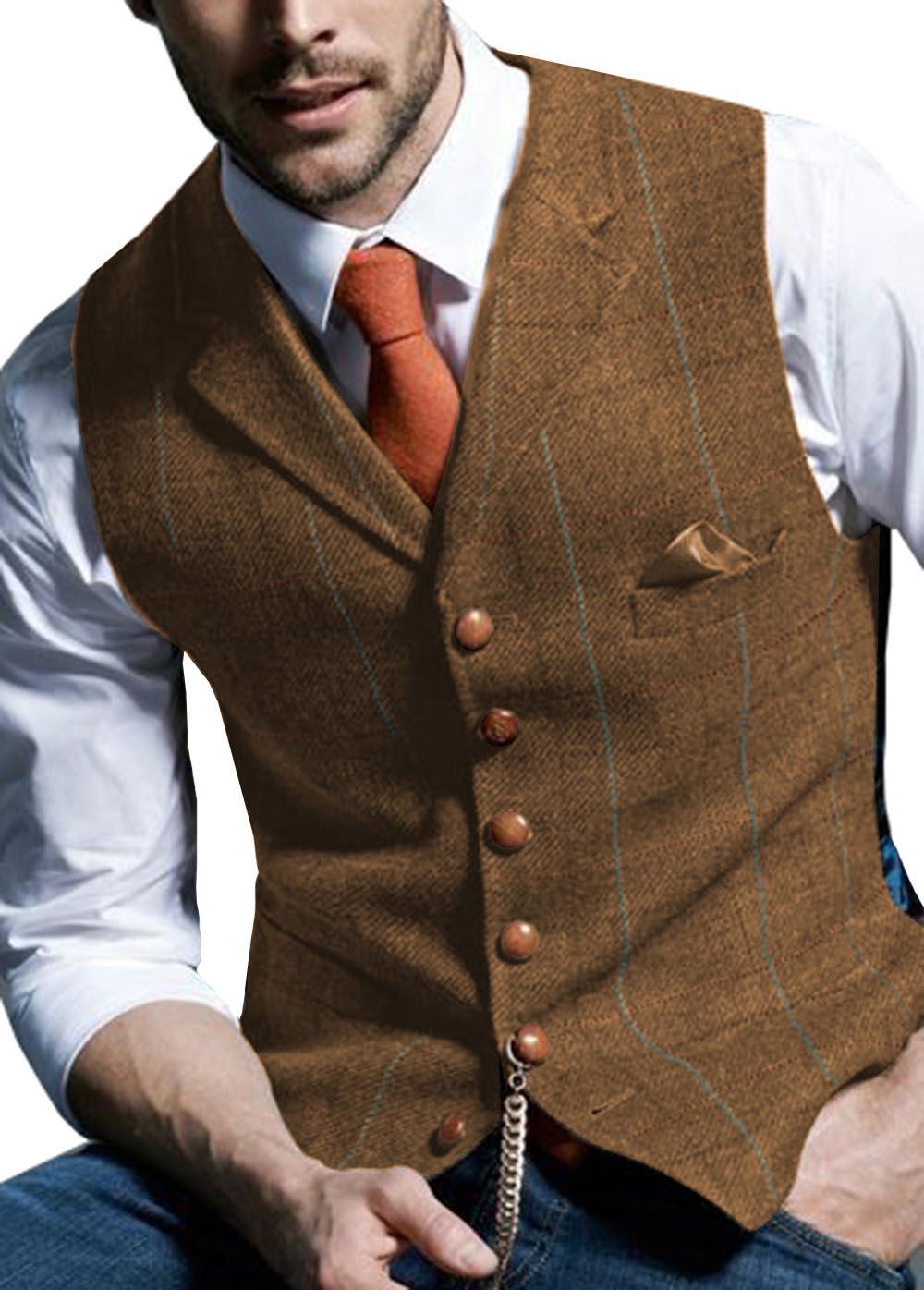 سترة بدلة تويد متعرجة للرجال ، صوف متقلب ، كاجوال ، أعمال رسمية ، زفاف ، أخضر ، بني ، أخضر ، رمادي