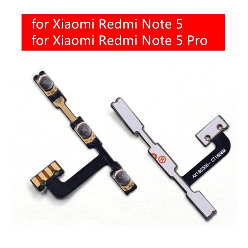 Гибкий кабель для Xiaomi Redmi Note 5, гибкий кабель для включения и выключения, гибкий кабель для замены, детали для ремонта