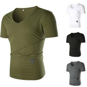 Short Sleeve Men's 2021 Summer New Tooling Training MensT-shirt Loose Men's Breathable Sports Jacket   Oversized T Shirt