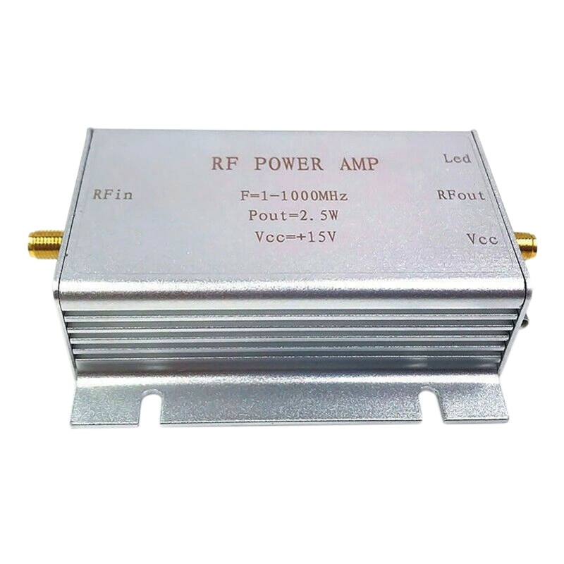 1-1000Mhz 2.5W Rf Power Amplifier For Hf Fm Transmitter Vhf Uhf Rf Ham Radio