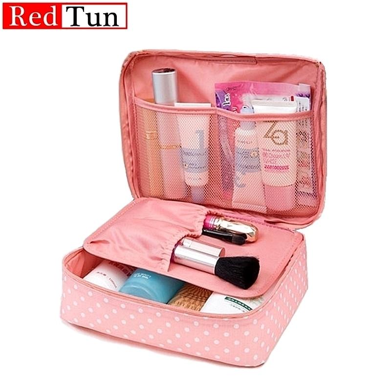 High Capacity Outdoor Girl Makeup Bag Women Cosmetic Bag Toiletries Organizer Waterproof Female Stor