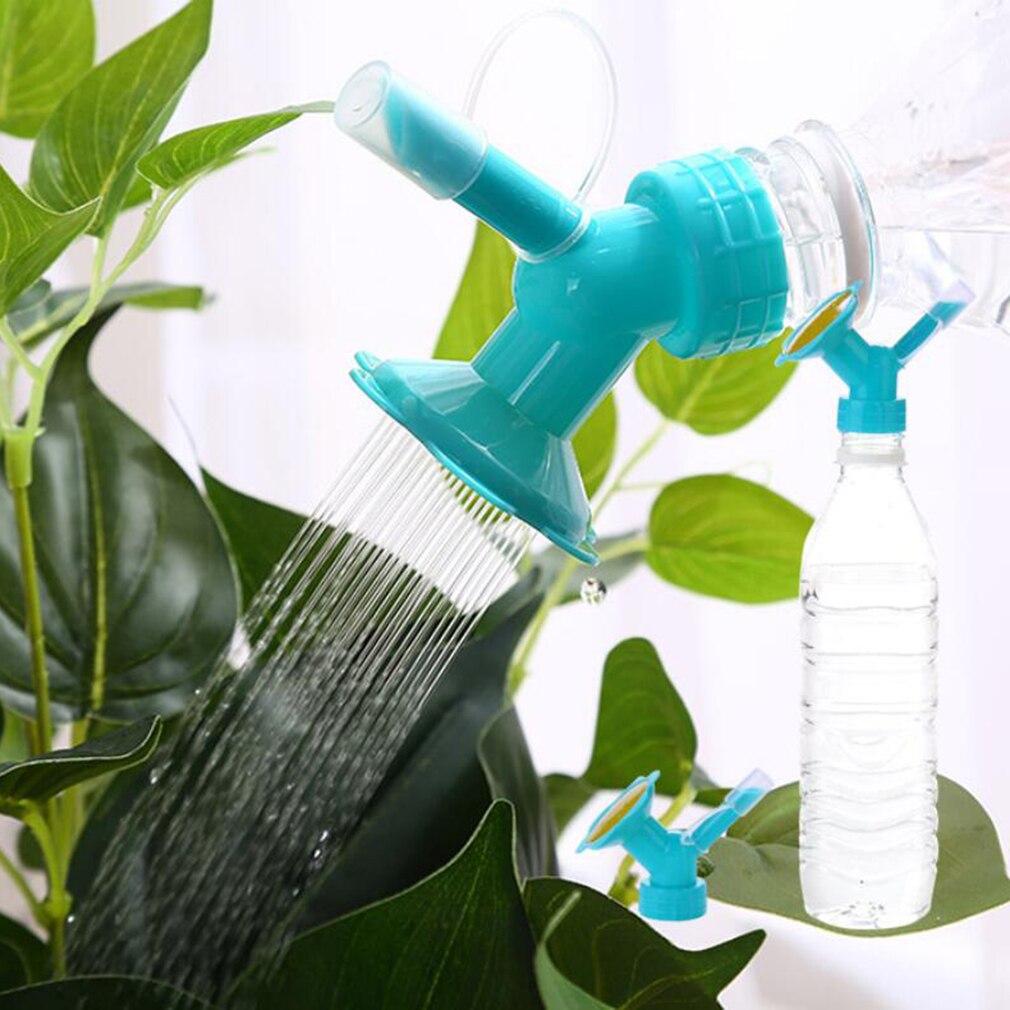 1 Pza boquilla de flores riego boca larga botella de bebida en maceta superior Dispositivo de riego flor solar riego suministros de herramientas