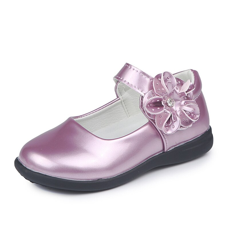 pink black red children girls shoes for kids student leather shoes school black dress shoes girls 4 5 6 7 8 9 10 11 12 13 14t Purple pink Black white Flower Girls Shoes Princess Single shoes teenager Student Leather Shoes for Big girls 4 5 6 7 8 9 10-16T