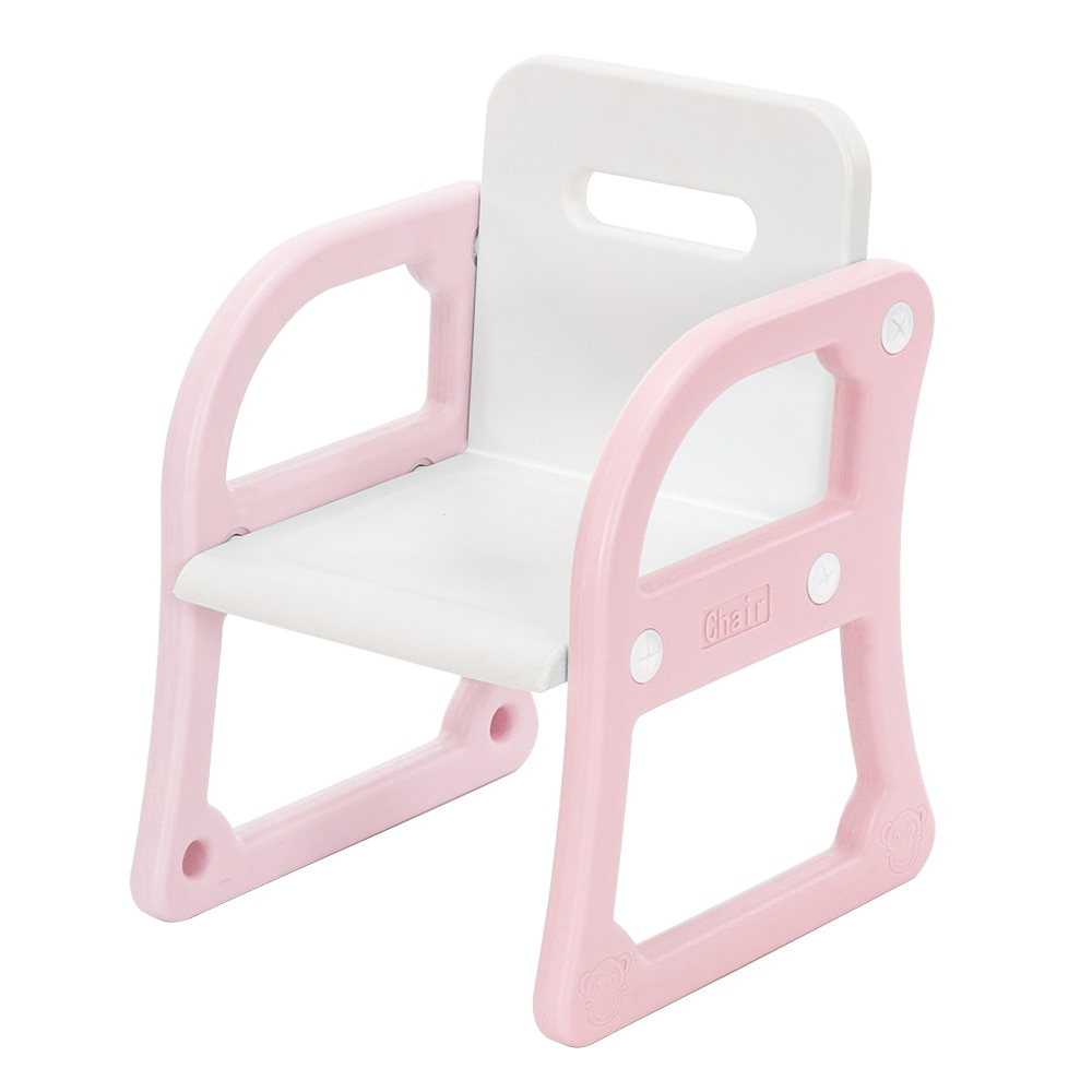 【US Warehouse】(52x67x68) de plástico de los niños mesa y silla Set tablero...