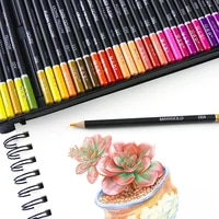 artist painting sketching wood color pencil watercolor drawing colored pencil set 72120 colors school art supplies profesional