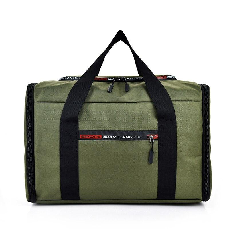 Брендовые вместительные Водонепроницаемые рюкзаки для мужчин, модная многофункциональная сумка для багажа, складная дорожная сумка, повсе...