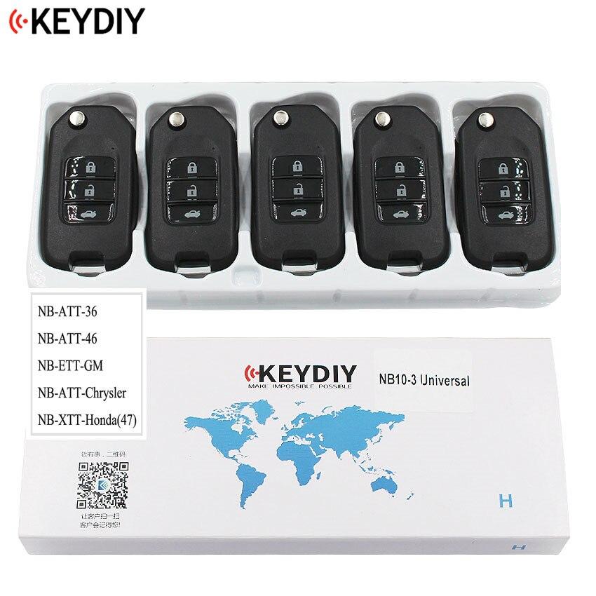 5 uds., mando a distancia Universal multifuncional para KD900 KD900 + URG200 KD-X2 serie NB, NB10-3 KEYDIY
