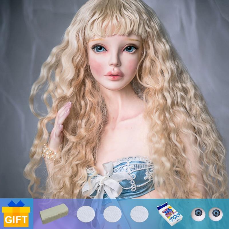 New Arrival doll bjd Shuga Fairy Amadiz Virginia 1/3 movable Jointed fullset complete professional makeup Girl Birthday Gift