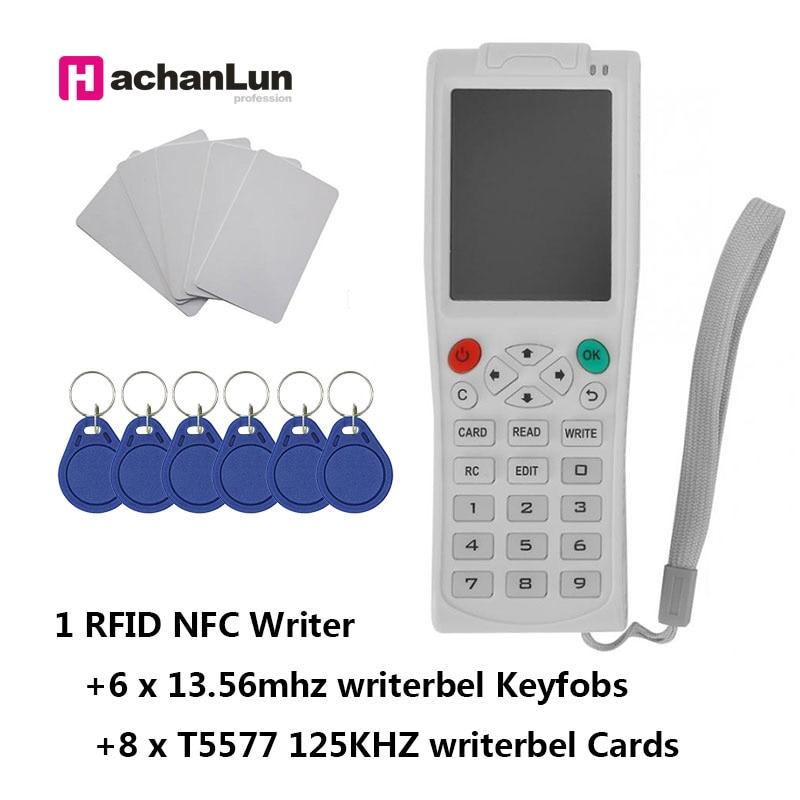 بطاقة ذكية iCopy8 مع وظيفة فك تشفير كاملة ، آلة مفاتيح RFID ، قارئ/كاتب