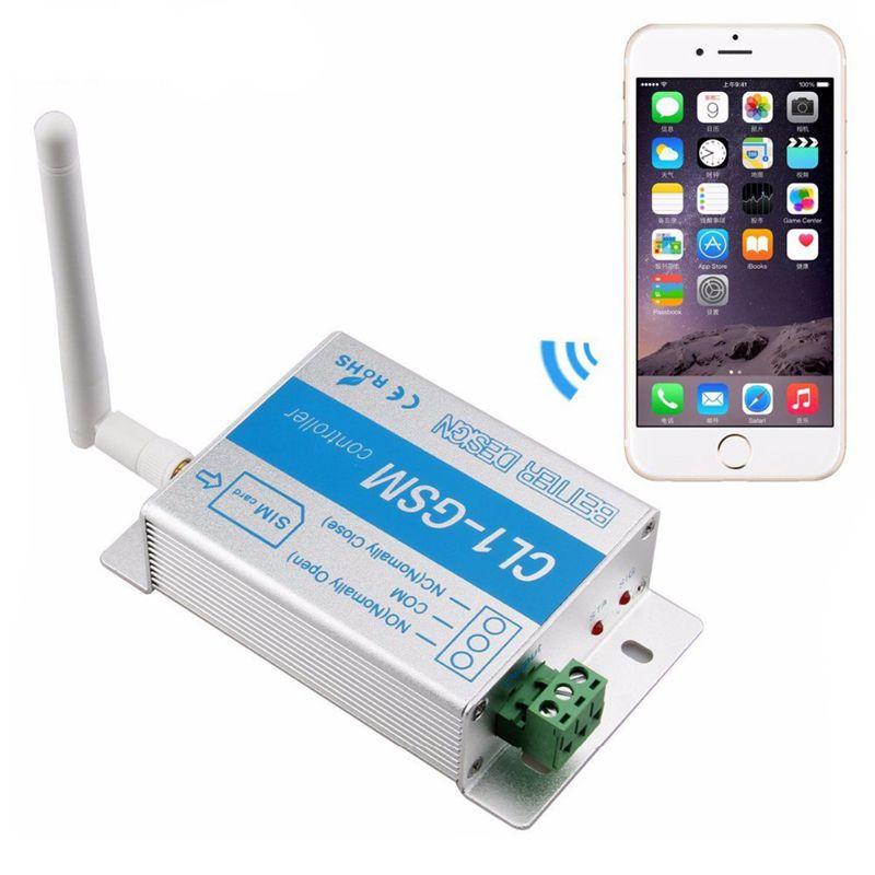 ¡Oferta! Relé 3C-Gsm interruptor inteligente llamada de teléfono Sms Sim controlador Cl1-Gsm