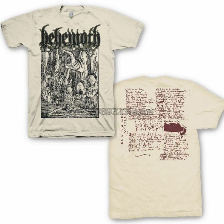 Camiseta de BEHEMOTH (Lvcifer) S-2XL mercancía de marca New-Kings Road
